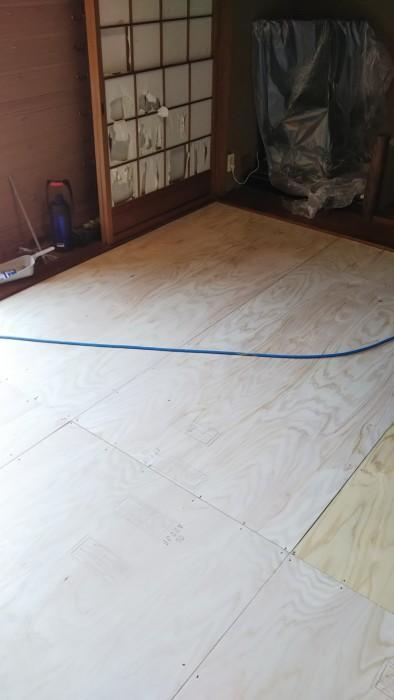 床の張替え リフォーム🏡
