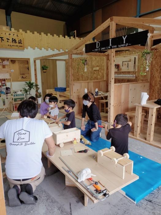 木工教室無事終了致しました😊