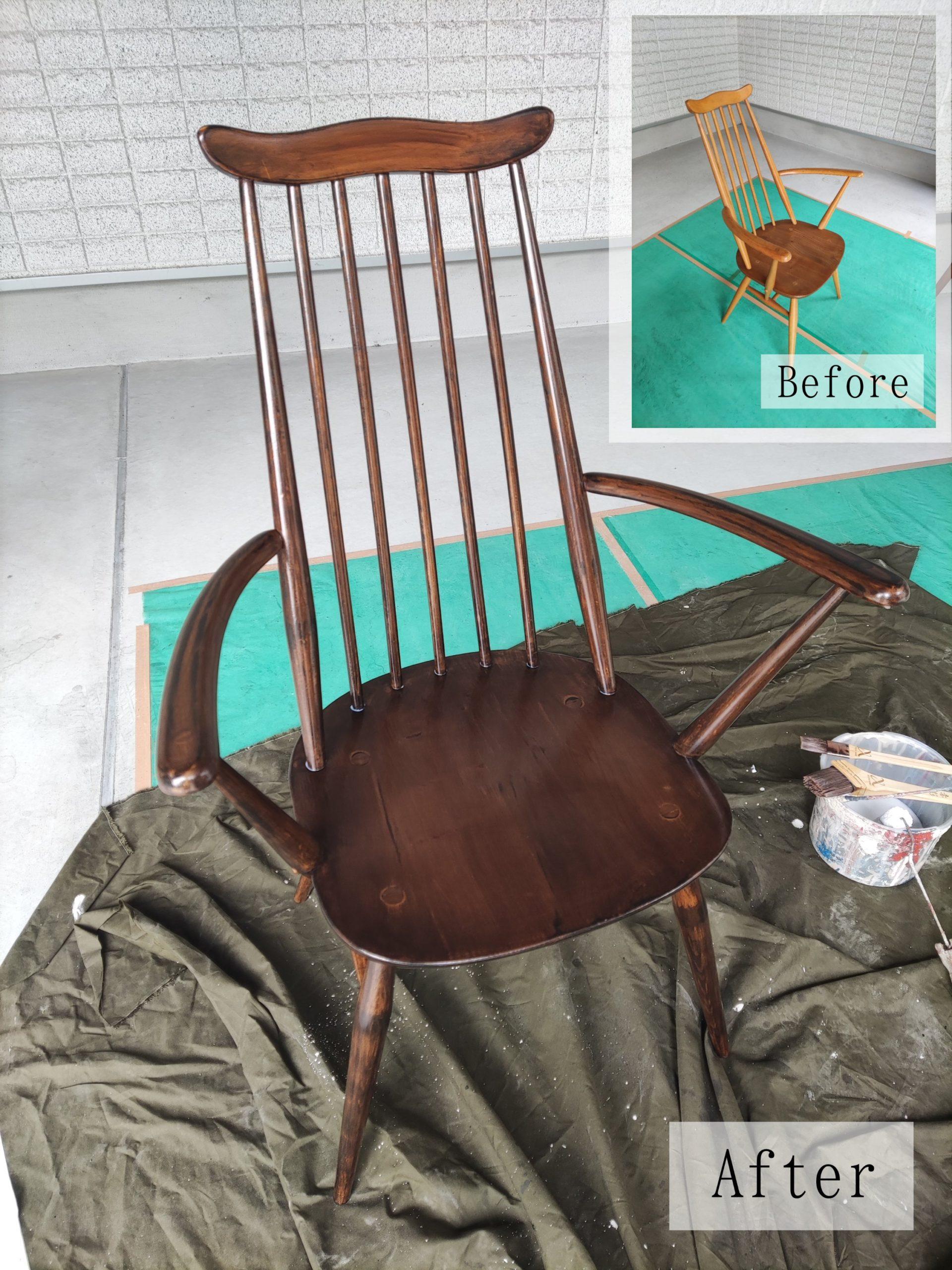 家具塗装工事