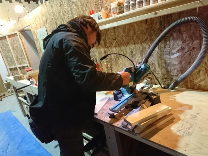 本日!X`mas木工教室🎄