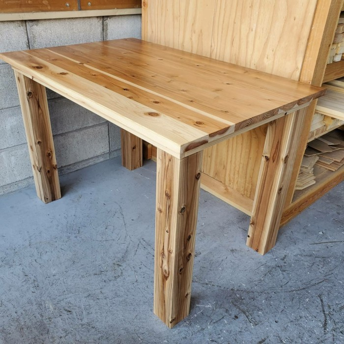 大工職人による造作家具、オーダー家具